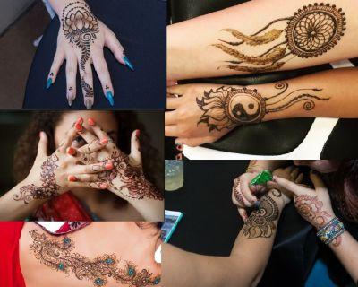 Select a Professional Henna Tattoo Artist in Las Vegas