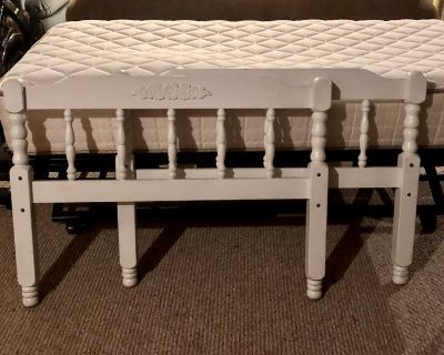 Mattress and Twin Trundle bed pop up!