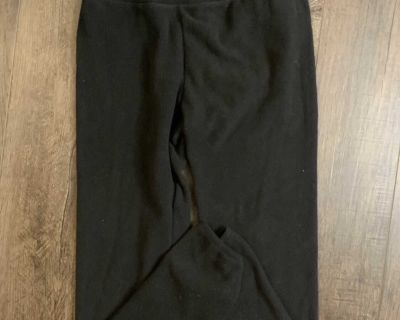 Cuddle duds women s small black joggers loungers