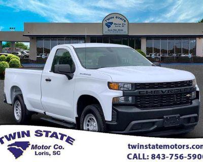 2019 Chevrolet Silverado 1500 Work Truck Long Box 2WD