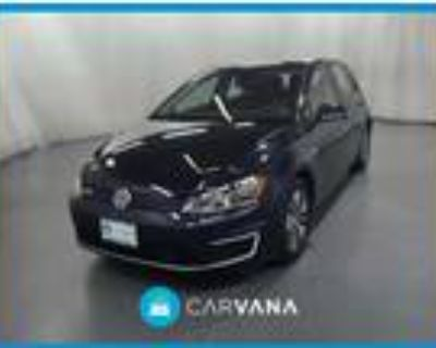 2016 Volkswagen e-Golf Blue, 35K miles
