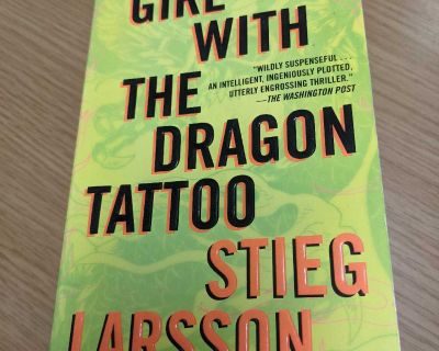 The Girl with the Dragon Tattoo Paperback Book by Stieg Larsson