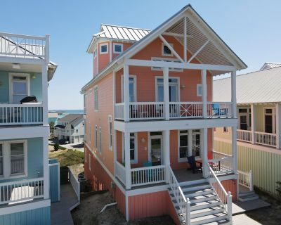 Almost Ocean Front, Spectacular intracoastal/ocean views from all decks. - Atlantic Beach