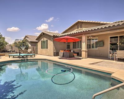 NEW! Bright Queen Creek Home w/ Entertainment Area - San Tan Valley