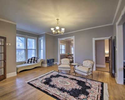 Noblesville Historic Home: Walk to Downtown Shops! - Noblesville