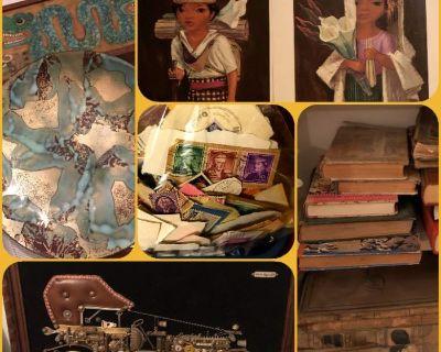 Bluebird Estate Sale- Vintage, Books, Home Goods
