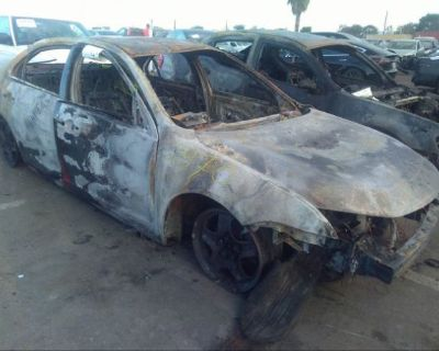Salvage Black 2011 Ford Fusion
