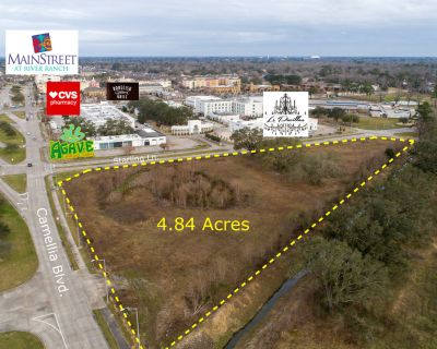 +/- 4.84 Acres of Commercial Land for Sale