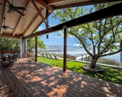 Lakeshore Paradise- Lakefront with Private Dock - North Lakeport