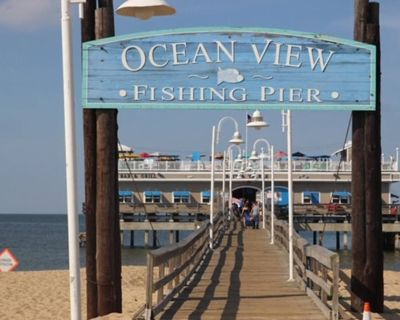 Beautiful Ocean Front Cottage near Naval Base and Ocean View Beach! - Ocean View