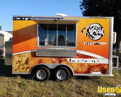 2019 14' Kitchen Concession Trailer with Ansul Pro Fire Suppression System