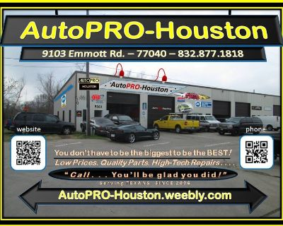 Auto Repair Shop with Mobile Mechanics Houston TX