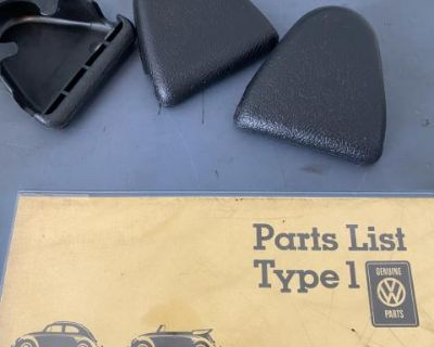 NOS Seat Belt Upper Bolt Cover Swivel
