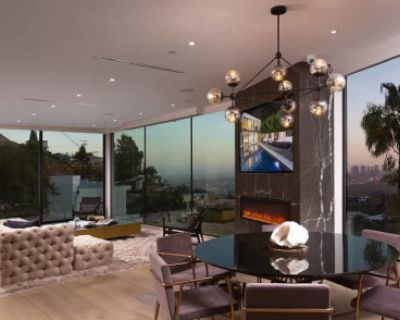 Modern smart home with spectacular views, Los Angeles, CA, CA