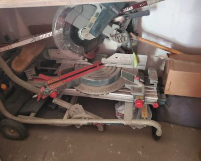 Bosch 12inch miter saw with stand