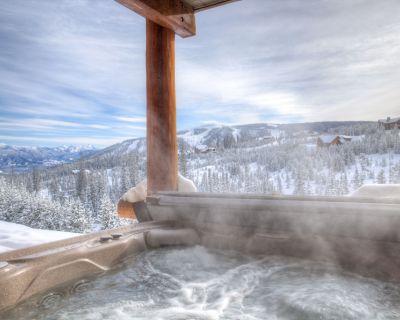 True Ski-in/out Saddle Ridge End Unit/Private Hot Tub/King Bed/Lone Peak Views - Saddle Ridge