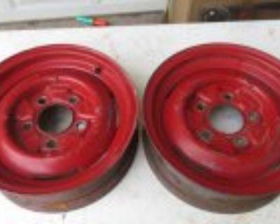 """1940 Ford Style 15"""" Steel Wheels 1949 - 1964 Truck Wheels"""