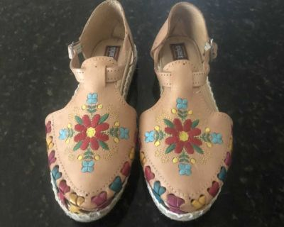 New Genuine Handmade Leather Mexican Sandals