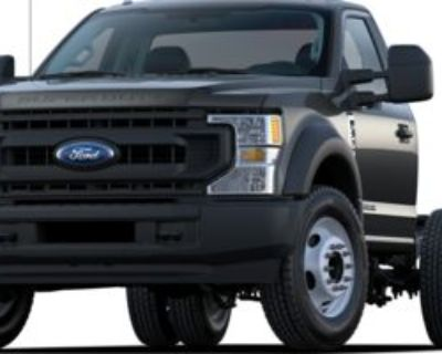 New 2021 Ford F-Super Duty Chassis Cab All