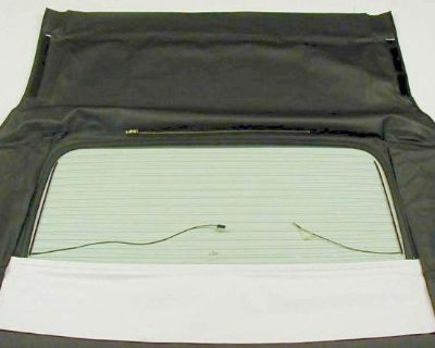 Oldsmobile Delta Royale 71-76 Defroster Convertible Glass Assembly - White