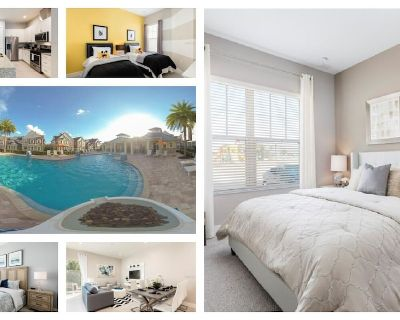 Stay 5 minutes from Disney and Parks, Pool, Jacuzzi, Gym and more - Kissimmee