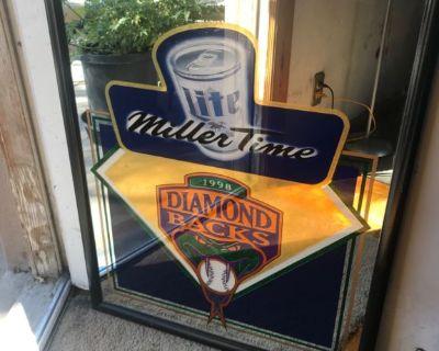 Diamond Backs mirror