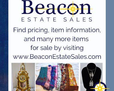 INCREDIBLE ONLINE CAMBRIDGE ESTATE SALE - Jewelry, Silver, Artwork and More!