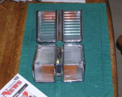 71 Chevelle turn signal lenses and bezels