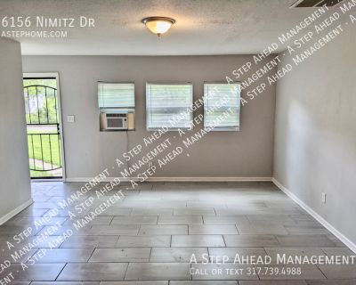 6156 Nimitz -2 Bed/1 Bath Duplex - Recently Renovated & Move in Ready