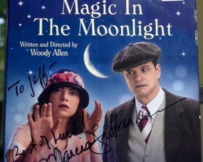 """Blu Ray"""" Magic in the Moonlight""""- Colin Firth, Marcia Gray Harden"""