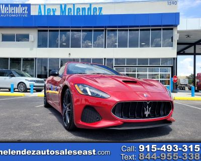 Used 2018 Maserati GranTurismo Sport 4.7L