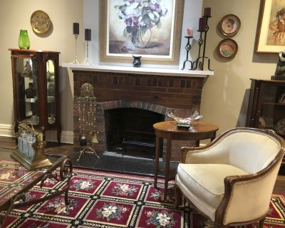 Lovely NDG home with lots of items to choose from!