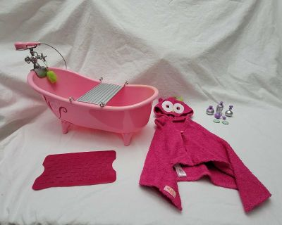 Our Generation Owl Be Relaxing Bathtub Set for 18-inch Dolls