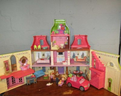 Fisher Price Loving Family Doll House (Dream House Grand Mansion)