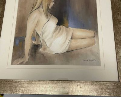 Lady in Towel Wall Hanging