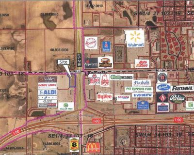 1.63 acres of land / high-traffic area