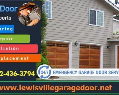 Top Most Rated Garage Door Repair Lewisville, 75056 TX