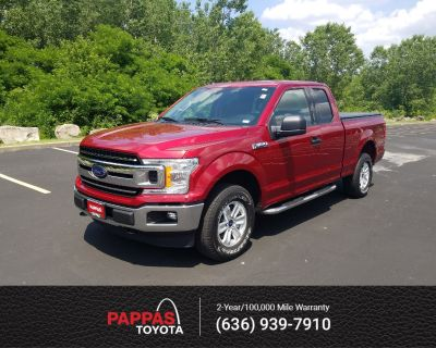 Pre-Owned 2018 Ford F-150 XLT Extended Cab Pickup 4WD