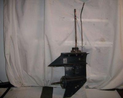 "1995 Johnson 9.9hp Outboard Motor Lower Unit. 14 1/4"" Shaft"