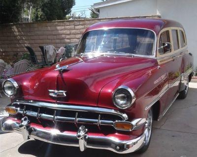 1954 Chevrolet Bel Air Townsman Tin Woody Wagon