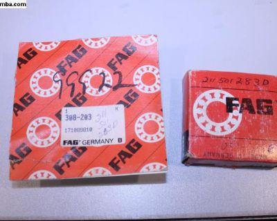 New FAG 71-91 Bay & Vanagon Rear Axle Bearing