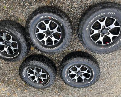 Washington - Rubicon Wheels and Tires - BFG KO2, 6K miles