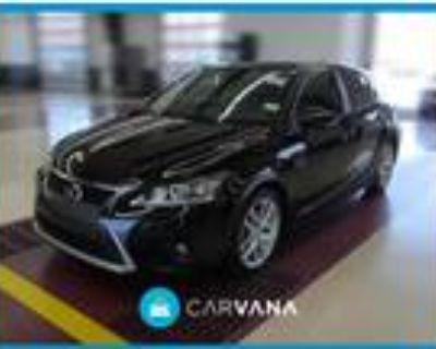 2015 Lexus CT 200h Black, 56K miles