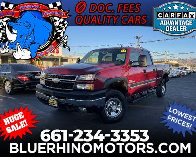 2006 Chevrolet Silverado 2500HD Work Truck Crew Cab Long Bed 4WD