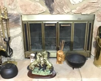 Estate sale with antiques