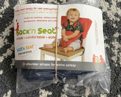 New Sack and Seat Travel chair