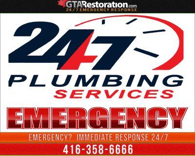 Emergency Plumbing Service & Plumber Toronto Water Damage