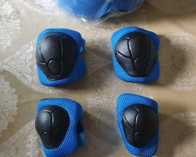 Protective Gear Set with Helmet for Kids ( NOTE CROSSPOSTED)