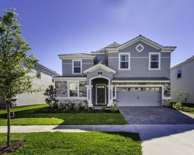 Family Friendly 8 Bed Game Spa Pool Home at Champions Gate Resort - Champions Gate