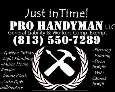Hire your own handyman!